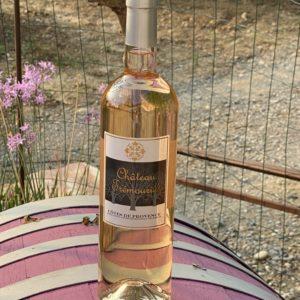 bouteille de Rosé 2020 Château Tremouries